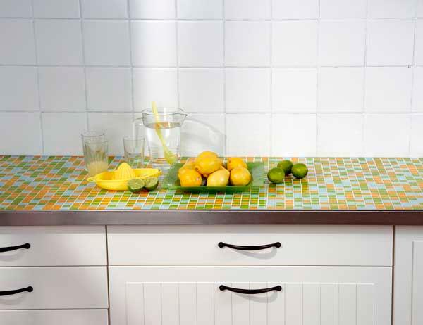 Столешница из мозаики для кухни столешница нумерэр икеа